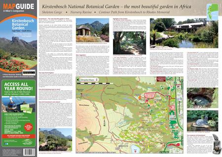 Kirstenbosch-map