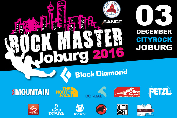 Rock Master Jo'burg 2016 Lead Competition