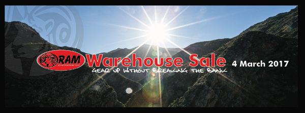 Ram Mountaineering annual Warehouse Clearance Sale