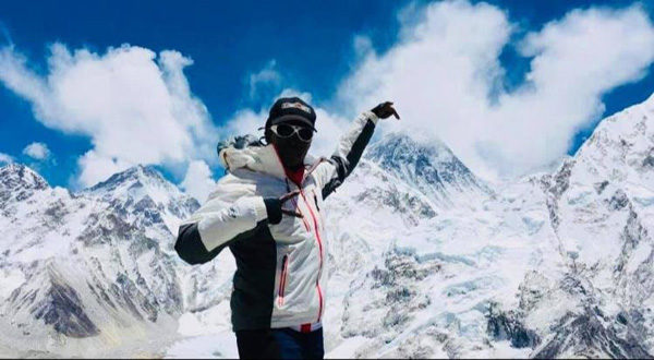 Saray Khumalo, the first black South African woman to summit Mount Everest