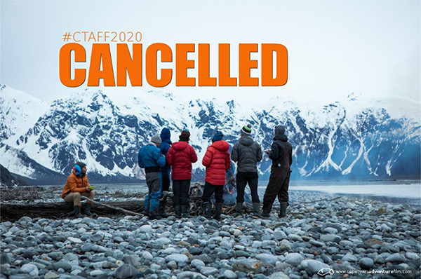 Cape Town Adventure Film Festival: 23 April - 9 May 2020 Cancelled