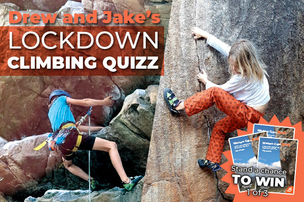 Drew and Jake's Lockdown Climbing Quizz