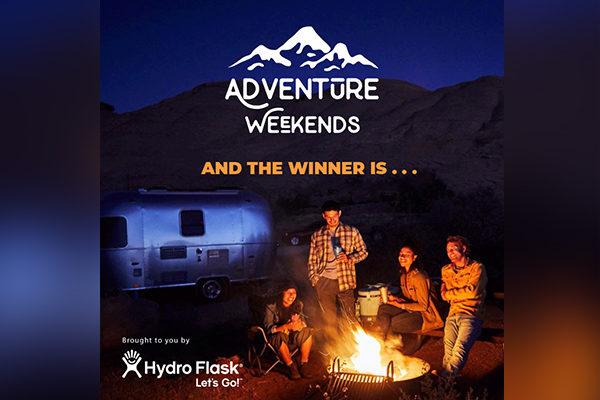 The Adventure Weekend Giveaway WINNER is . . .