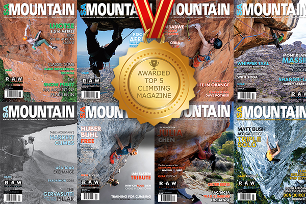 SA Mountain makes the top 5 climbing magazines and ezines in the world.